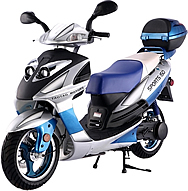 "TAOTAO 150cc Sporty Scooter LANCER 150 with 13"" Big Tires. Free shipping to door, free lift-gate service, free helmet, free 1-year bumper to bumper warranty."